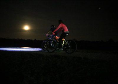 Full Moon Bike Ride Riders
