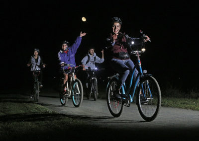 Lawrence Hopewell Trail and Mercer County Park Commission's 4th Annual Full Moon Bike Ride
