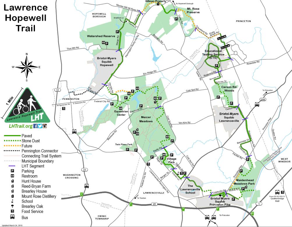 LHT Trail Map 2019