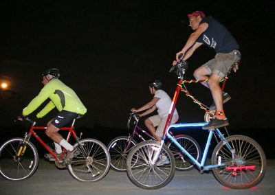 LHT Full Moon Ride Cyclists