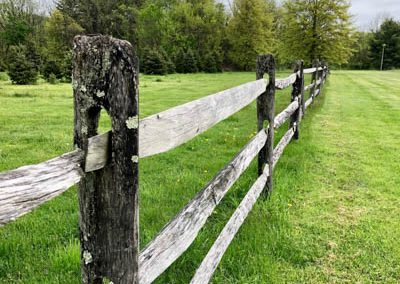 LHT Fence on the Trail photo by Lynn Dorsey