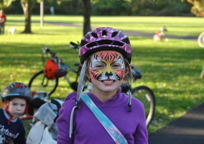 LHT Trail and Treat Girl in Halloween costume