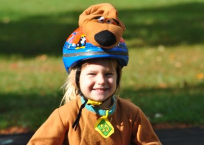 LHT Trail and Treat girl in dog costume