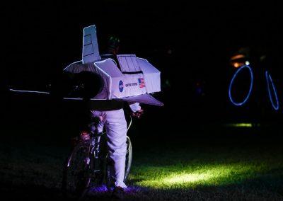 Lawrence Hopewell Trail 2019 Full Moon Bike Ride