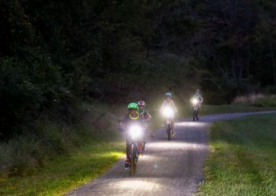 LHT Full Moon Bike Ride 2019 cyclists