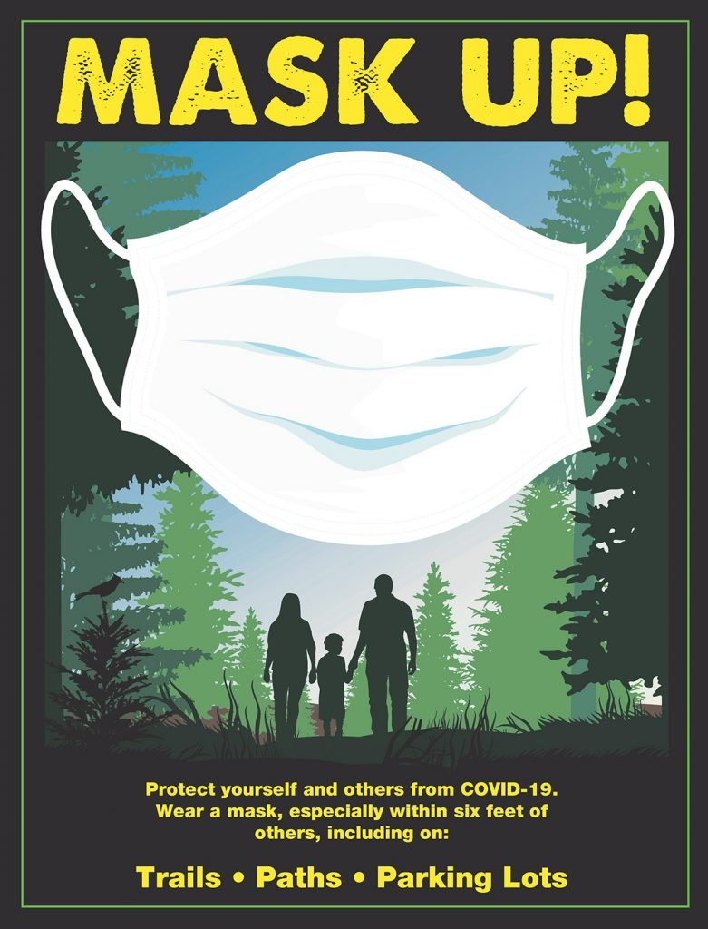 DEP Mask Up! Campaign poster