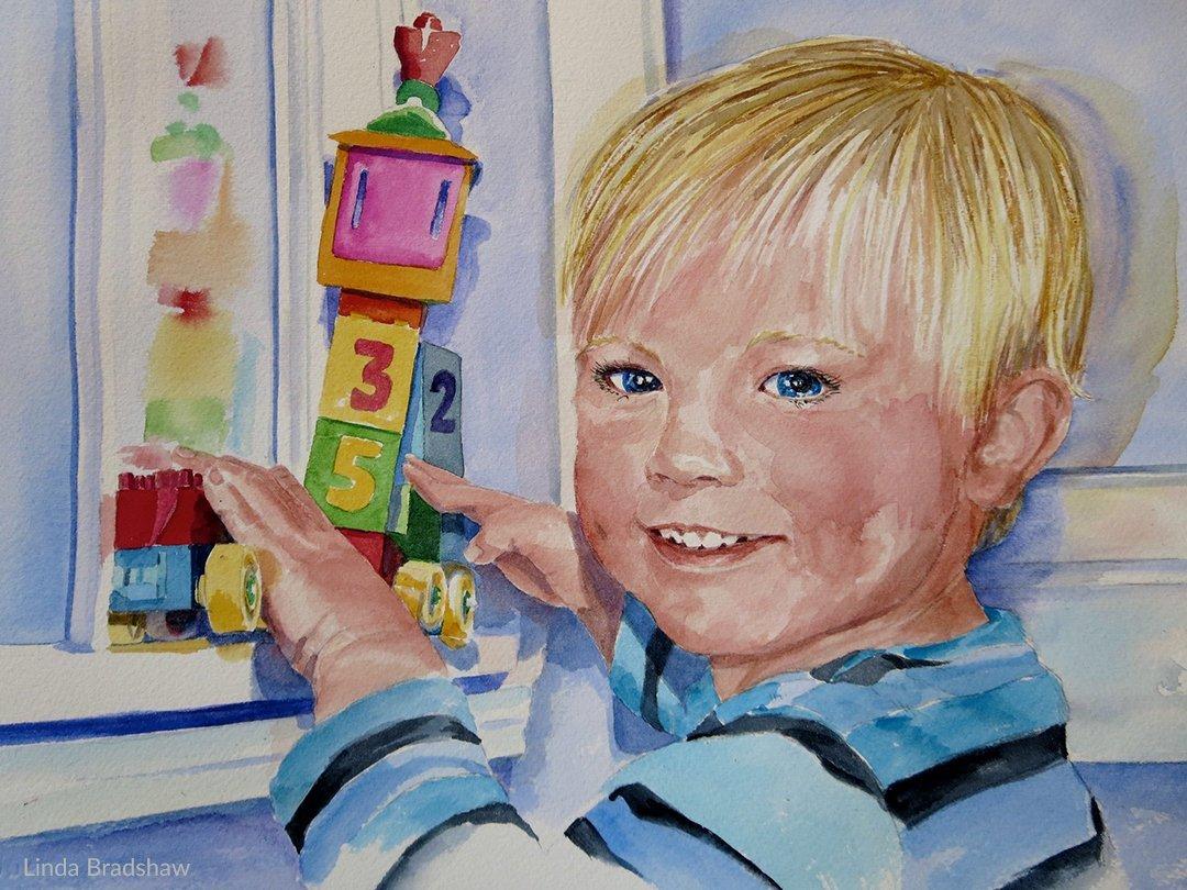 LHT Linda Bradshaw Grandson Portrait