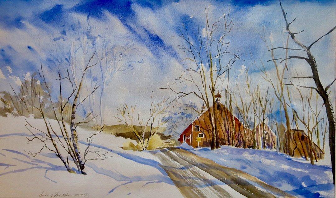 LHT Linda Bradshaw Vermont Barn