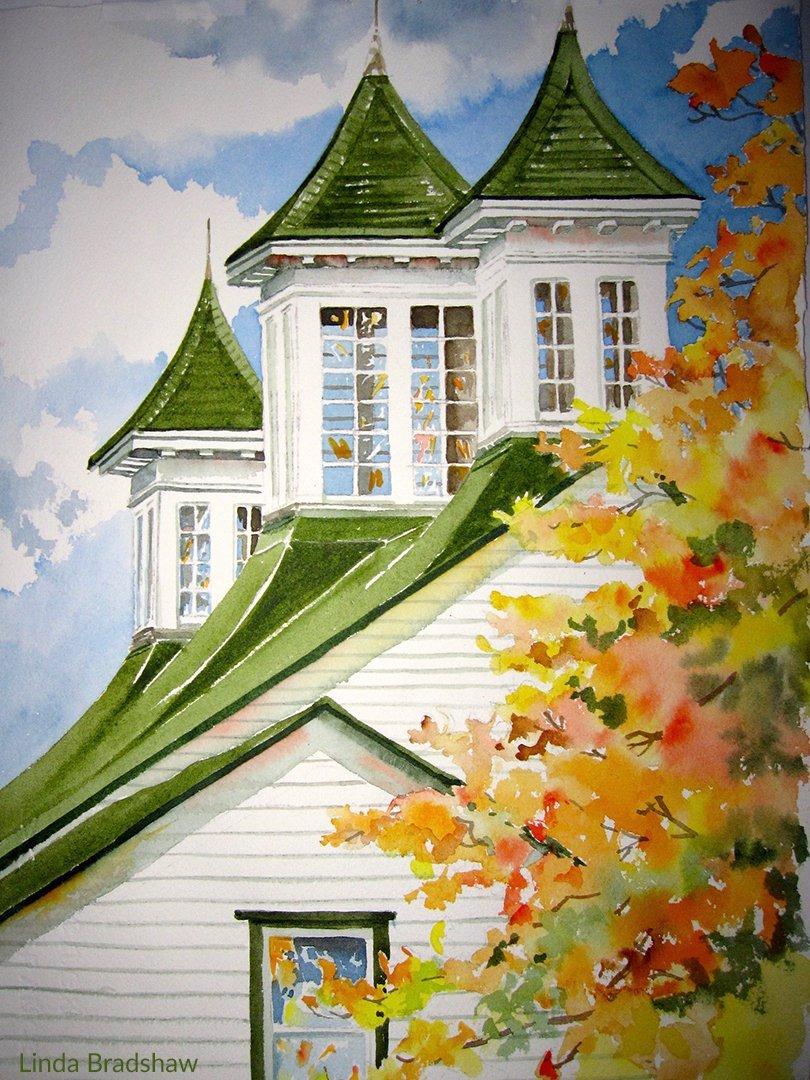 LHT Linda Bradshaw Vermont Rooftop
