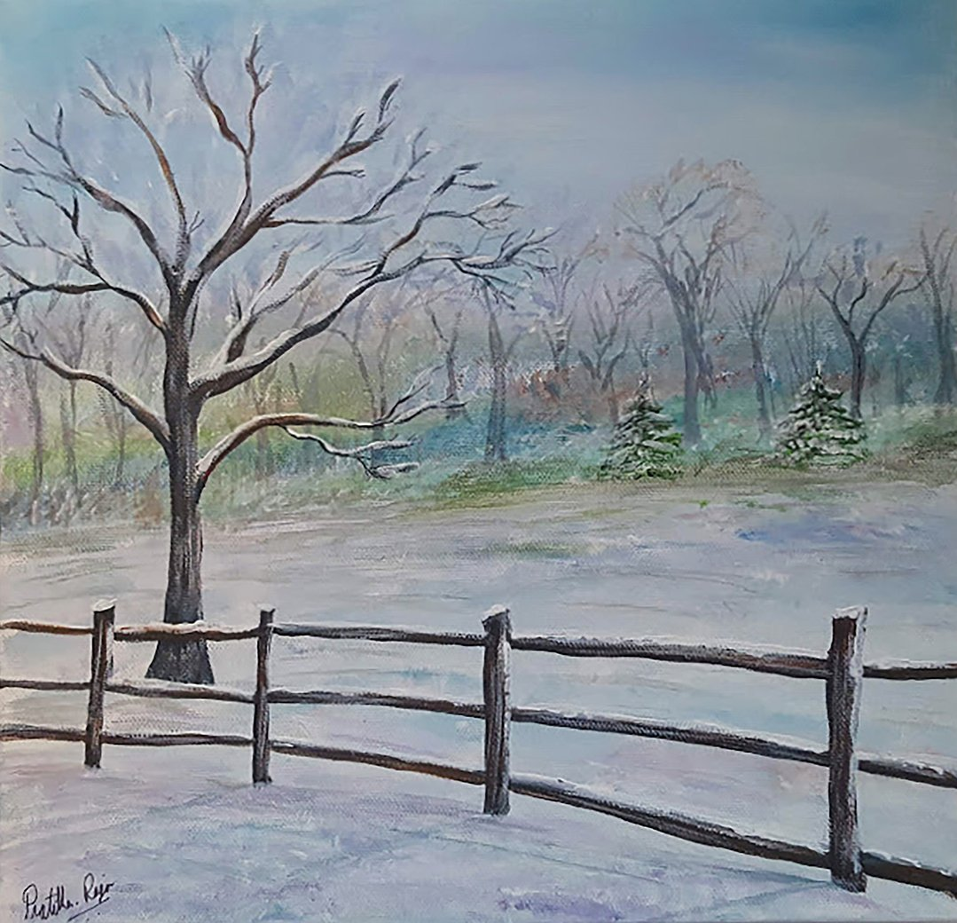 LHT Winter Wonderland Art on the Trail by Pratibha Raju