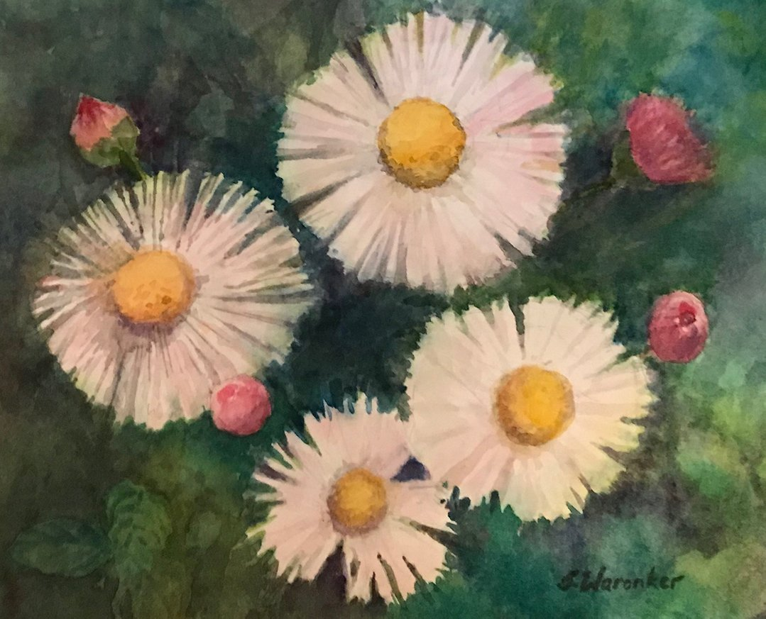 LHT Art on the Trail Janet Waronker Daisies
