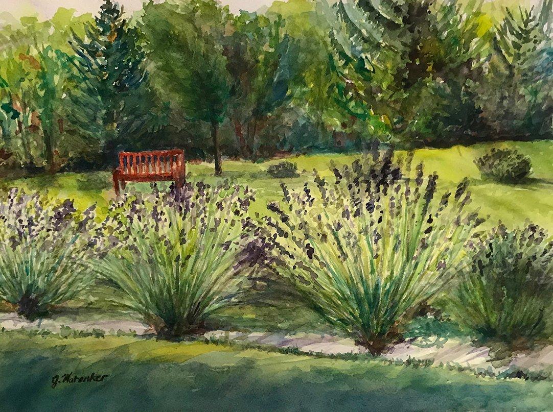 LHT Art on the Trail Janet Waronker Ringoes Lavender