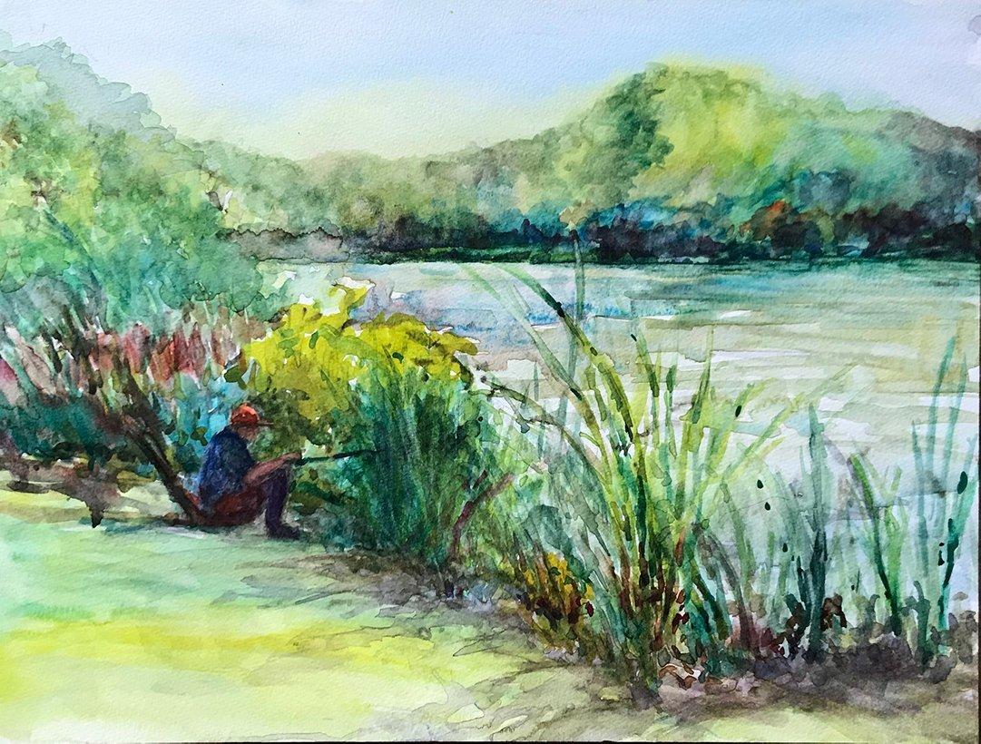 LHT Art on the Trail Janet Waronker Rosedale Lake