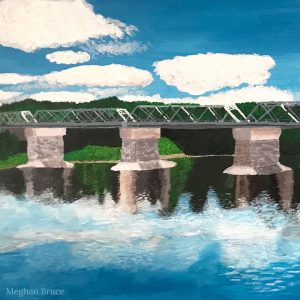 LHT Art on the Trail Meghan Bruce Washington Crossing Bridge