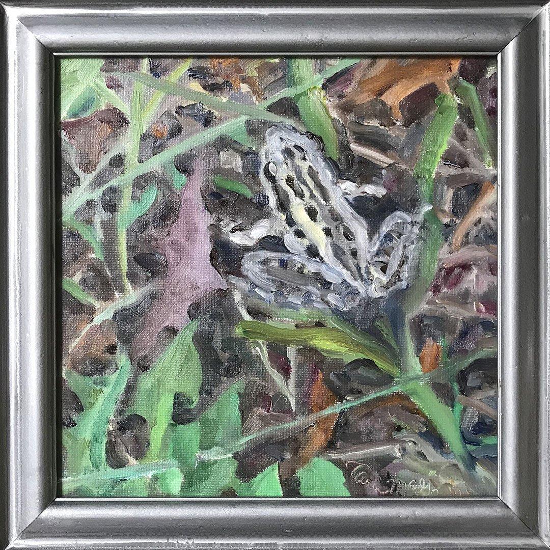 LHT Art on the Trail Tara McGowan Leopard Frog