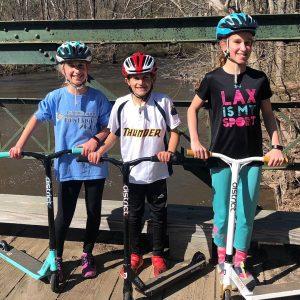 LHT Kids on Bridge