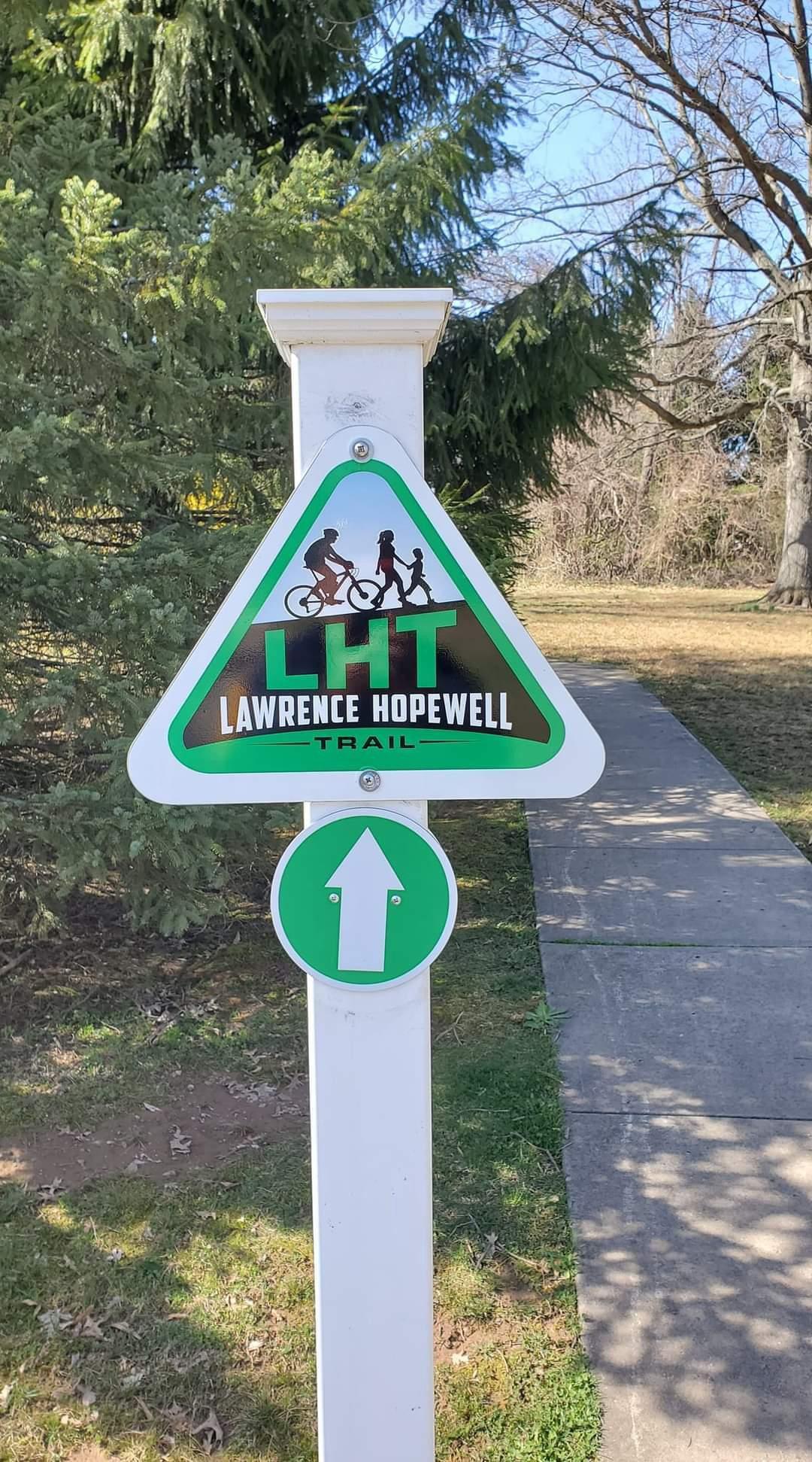 LHT Trail Sign