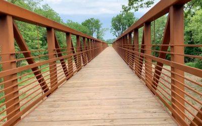 The LHT's New Pedestrian Bridge is a Winner!