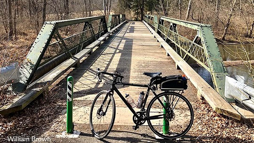 LHT Stony Brook Truss Bridge by William Brown