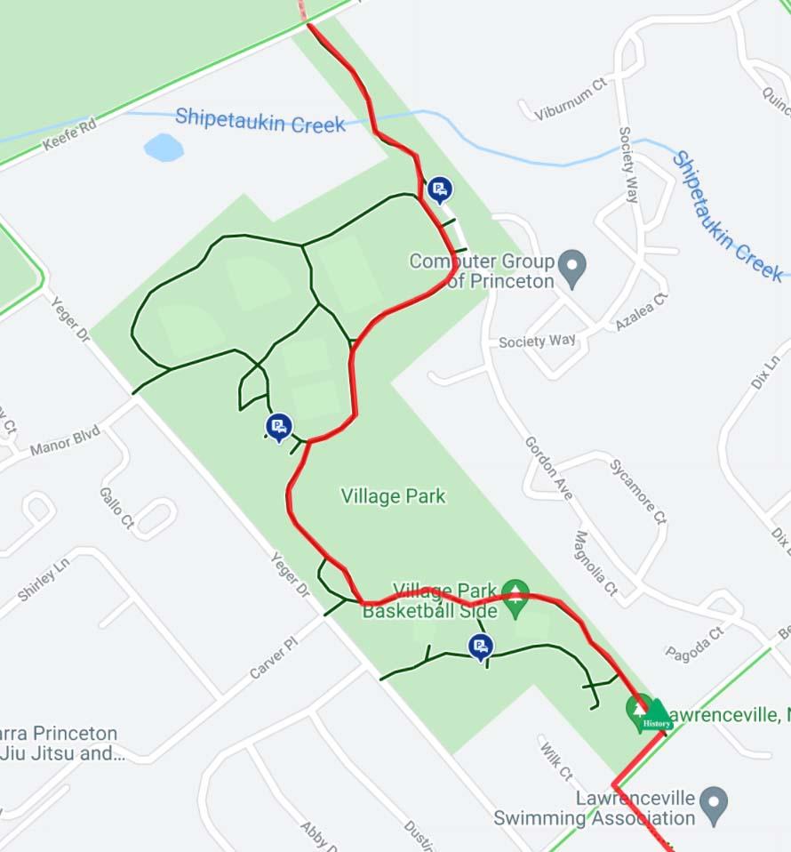 LHT Village Park map
